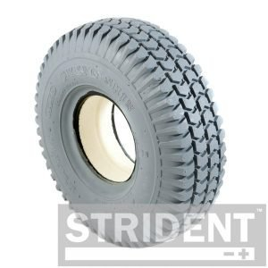 C248S replacement tyres for mobility scooter STRIDENT GREY SOLID 260 X 85 (3.00-4) BLOCK INNOVA TYRE