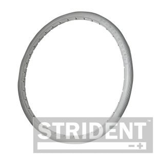 Replacement Wheelchair Tyres - Strident Grey PU GREY POLY URETHANE 22 X 1 3/8 WHEELCHAIR TYRE